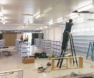Specialists in Commercial Electrical - after hours pharmacy fit out job